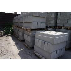 Камень стеновой с фаской 188х190х390