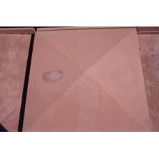 Козырек четырехскатный шагрень 390x390х5,5