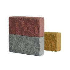 Фасадная плитка рубленная 90 мм с мрамором