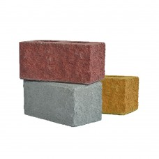 Камень стеновой рубленый угловой с мрамором